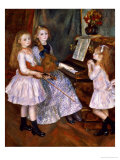 Buy The Daughters of Catulle Mendes at the Piano, 1888 at AllPosters.com