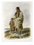 Dacota Woman and Assiniboin Girl