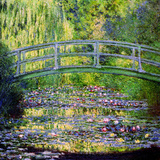 Buy The Waterlily Pond with the Japanese Bridge, 1899 at AllPosters.com
