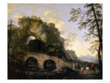 Landscape with a Dilapidated Bridge