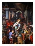 The Alchemist's Workshop, 1570