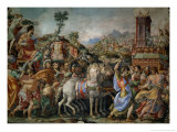 The Triumph of Marcus Furius Camillus, from the Sala Dell'Udienza, 1545 (Pre-Restoration)