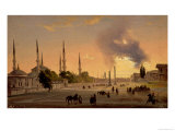 The Racecourse at Constantinople Giclee Print