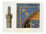 Architectural Details from the Mesdjid-I-Shah, Isfahan, Plate 12-13 from Modern Monuments of Persia