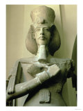 Colossal Statue of King Akhenaten Detail of Head and Upper Torso, New Kingdom