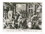 The Production of Olive Oil, Plate 13 from 