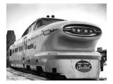New York, Central Railroad Bullet Train