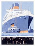 French Line, Ile de France