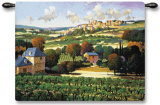 Vineyards of Provence Wall Tapestry
