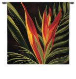 Birds of Paradise II Wall Tapestry