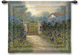 Iris Gate Wall Tapestry