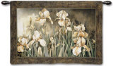 Field of Irises Wall Tapestry