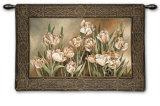 Tulips in Window Wall Tapestry