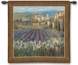 Provencal Village Wall Tapestry