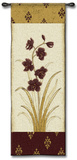 Kimono Orchid Plum I Wall Tapestry