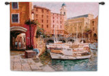 Mediterranean Colors Wall Tapestry
