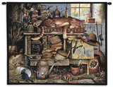 Remington the Horticulturist Wall Tapestry