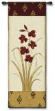 Kimono Orchid Crimson I Wall Tapestry