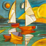 Bateaux Art Print