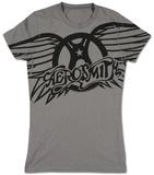 Juniors: Aerosmith - Winged Logo Aerosmith Aerosmith - Ray Logo Aerosmith Aerosmith Aerosmith- Dream On Aerosmith Aerosmith - Livin' On The Edge Aerosmith- Distressed White Wings Aerosmith, Property of. Est. 1970 Boston, MA Aerosmith - Let The Music Jukebox Aerosmith- Walk This Way aerosmith
