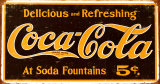 Coke – Weathered 1910 Logo