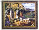 Vineyard Villa Wall Tapestry