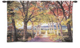 Autumn Path Wall Tapestry
