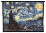 Starry Night, c.1889 Wall Tapestry