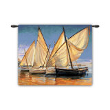 White Sails II Wall Tapestry