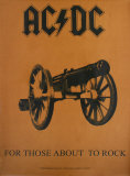 AC/DC Fabric Poster