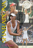 Maria Sharapova Tennis Sports Poster