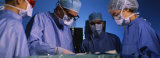 Four Surgeons in an Operating Room, Hospital