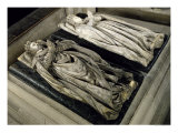 Effigies of Henri II and Catherine de Medici 1583