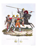 Norman Knight and Archers, 1066, from