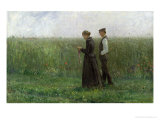 Sunday Afternoon, 1893 Giclee Print