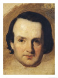 Study for a Portrait of Victor Hugo circa 1836
