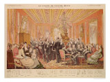 The Salon of Victor Hugo 21 Rue de Clichy, Illustration from