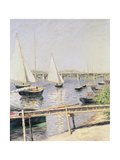 Sailing Boats at Argenteuil, circa 1888