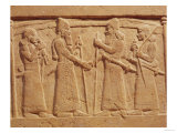 Buy Relief Depicting King Shalmaneser III of Assyria Meeting a Babylonian at AllPosters.com
