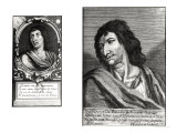 Two Portraits of Savinien Cyrano de Bergerac, on the Right after Zacharie Heince