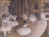 Ballet Rehearsal on the Stage, 1874