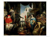 Solomon and the Queen of Sheba Giclee Print