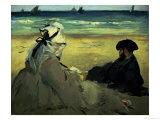 Sur la plage, 1873
