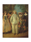 The Actors of the Commedia Dell'Arte