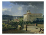 View of the Villa Medici, Rome, 1813
