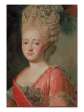 Portrait of Empress Maria Fyodorina, 1770s
