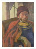 Self Portrait in Breton Costume, circa 1889 Giclee Print