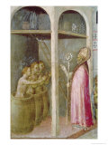 St. Nicholas Resuscitates the Three Children Thrown into Brine Tubs Giclee Print