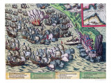 Fighting off the Coast of Gibraltar, Printed on 25th May 1607