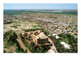 Aerial View of Town, Restored by the Achaemenids after Its Destruction by the Assyrians in 640 BC